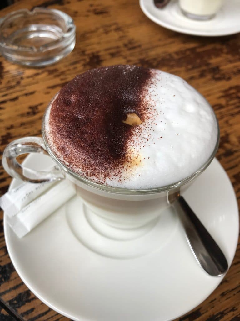 A Delicious Frothy Cappuccino