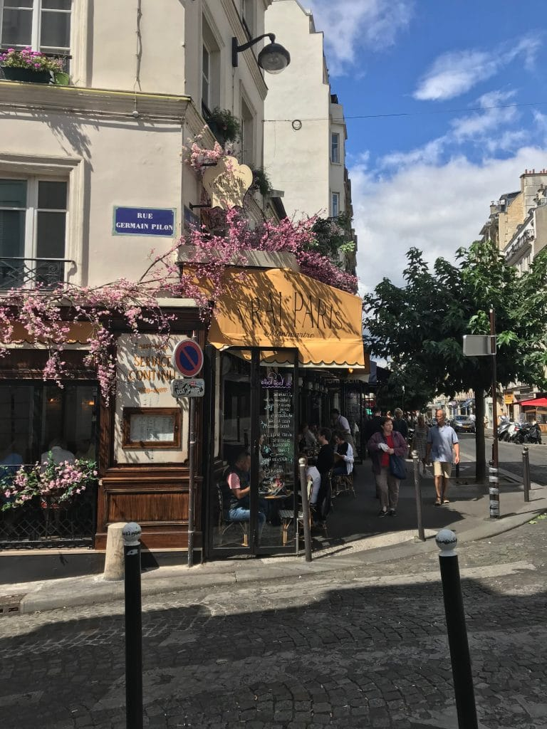 La Vrai in Montmarte, Paris